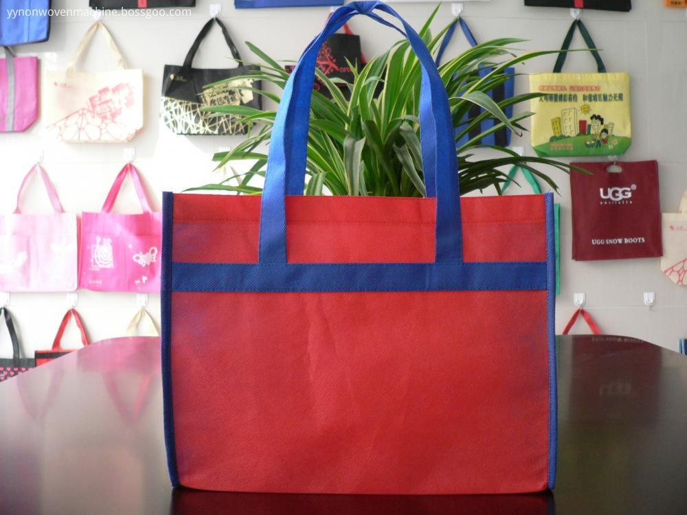 two-color non woven bag