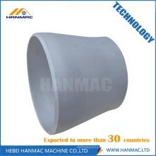 Redutor concêntrico de aço de alumínio da liga do ANSI