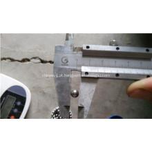 Bolas de aço carbono 1/4 e 5/32 polegadas