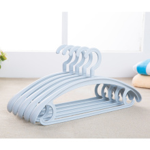 Environmental recycle used plastic suit hanger clothes hanger