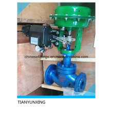 Pneumatic Modulating Valves with Position Actuator Switch Solenoid