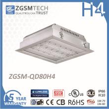 Luz Recessed conduzida diodo emissor de luz da luz de teto do Lighting interno 80W