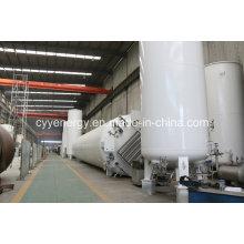2015 Réservoir de stockage de dioxyde de carbone Argon à faible pression d'oxygène liquide utilisé par l'industrie avec différentes capacités