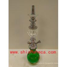 Diseño de la hoja moda alta calidad Nargile fumar pipa Shisha cachimba
