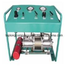 Oil Free Oilless Air Booster Gas Booster Bomba de llenado de alta presión del compresor (Tpds-10)