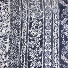 Tissu 100% rayonne teint et imprimé pour vêtement femme