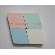 Esponja cosméticos coloridos da composição do Rhombus