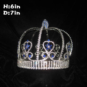 Wholesale Custom Crystal Pageant King Crowns