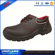 Zapatos de seguridad de cuero de 5 dólares Ufa010