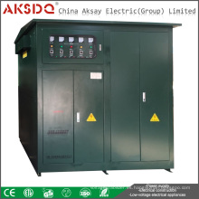 Hot Sales Ajuste individual SBW-F 1000kva Estabilizador automático del voltaje de la energía de la compensación de 3 fases para los túneles de Yueqing