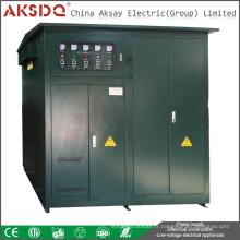 Les ventes chaudes Ajustent individuellement SBW-F 1000kva Compensation autonome à 3 phases Stabilisateur de tension d'alimentation pour tunnels de Yueqing