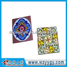 Customized soft pvc square drink coaster for advertising