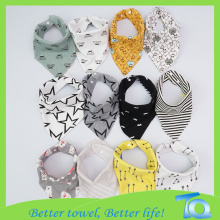 100 Cotton Children Baby Bandana Bibs Bamboo