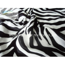 75D Fashion Zebra Stripe Printed Fabric