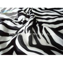 75D moda Zebra listra de tecido estampado
