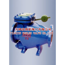 Micro Resistance Slow Closing Butterfly Check Valve (HH44X-10/16)