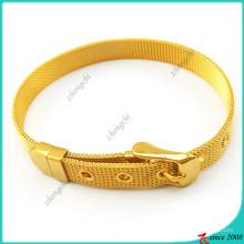 Bracelets en acier inoxydable de 8mm pour breloques diapositives bricolage (B16041922)