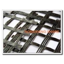 Geomalla de refuerzo de fibra de vidrio