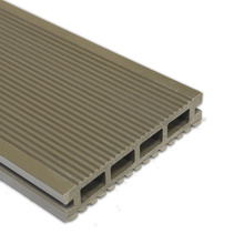Decking Compuesto Sólido Relieve Profundo WPC Decking