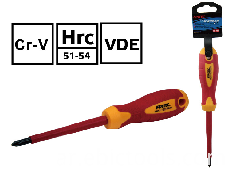 VDE Insulated Pozidriv Screwdriver