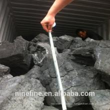 Anbieter von hochfestem Kohlenstoffkoks mit niedrigen Aschegehalten von 100-200 mm aus dem Hafen von Tianjin