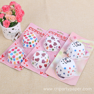 High Quality Mini Cartoon Paper Cupcake  For Party