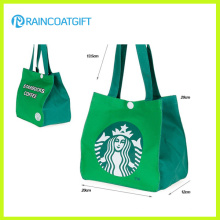 Logo Printing Non Woven Handle Cooler Bag Rbc-076