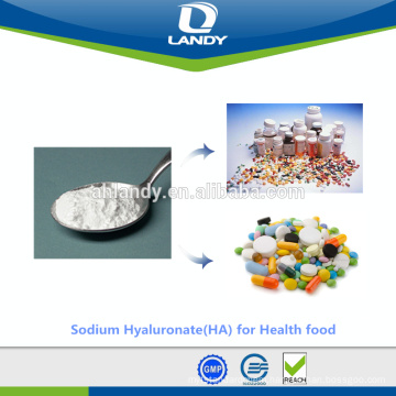 Stable quality cosmetic grade food grade Hyaluronic acid Sodium hyaluronate