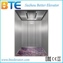 Ce boa qualidade e elevador profissional do passageiro sem quarto da máquina