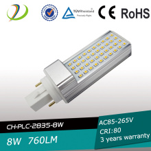 800lm 120mm length 8W G23PL Led Lamp