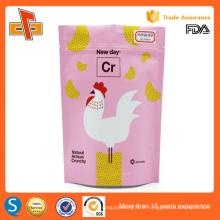 Emballage d'impression sérigraphié en plastique OEM avec sac à dos