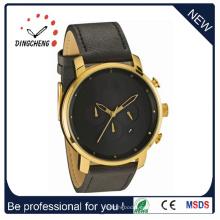 Relojes de pulsera de cuarzo de acero reloj de pulsera de señoras y hombres (DC-560)
