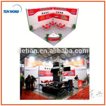 stand de exhibición de sistema de doble cubierta con sair dos puestos para exhibición justa de shanghai, China