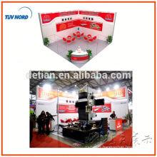 stand d'exposition de système de double plate-forme avec la stalle de deux étages de sair pour l'étalage juste de Changhaï, Chine