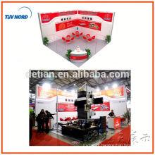 cabine de exposição do sistema do dobro-plataforma com sair tenda de dois andares para a exposição justa de shanghai, China