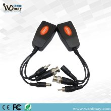 Cabo de Transceptor Passivo UTP Video Power Audio Balun