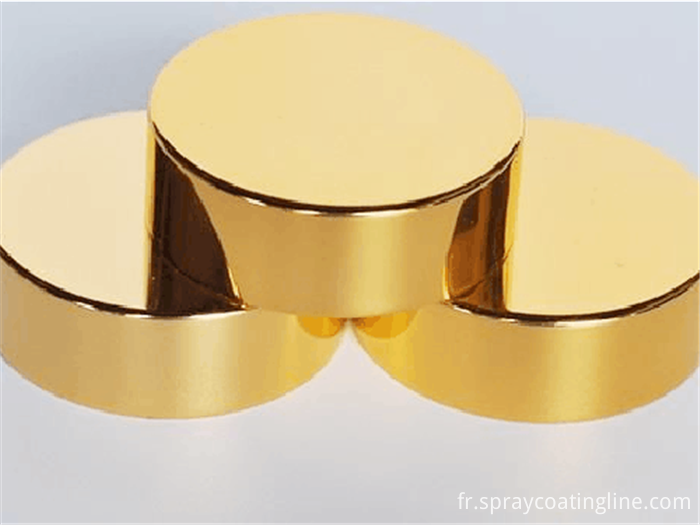 ceramic caps vacuum metllizing processing