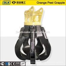Grappin de ferraille hydraulique certifié ISO pour la vente