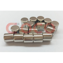 Round Rare Earth NdFeB Magnets D10*8
