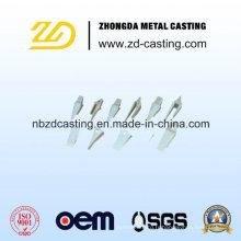 Pièce forgéee chaude d'acier d'OEM pour l'acier d'aluminium