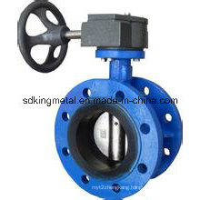 Cast Iron EPDM Seat Wafer Type Butterfly Valve