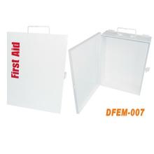 Caja de primeros auxilios de metal de acero