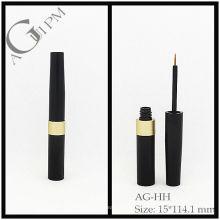 Aluminio redondo delineador de ojos tubo/delineador envase AG-HH, empaquetado cosmético de AGPM, colores/insignia de encargo