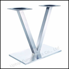 Modern Rectangle Brush Stainless Steel Base (SP-STL260)