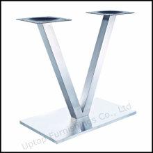 Современный прямоугольник кисть основание из нержавеющей стали (СП-STL260)
