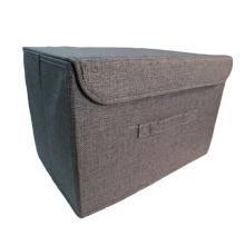 Dark Grey Portable File Box