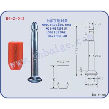 Perno de alta seguridad sello BG-Z-012
