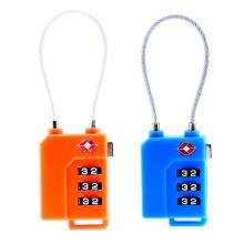 Code de serrure à combinaison à 3 cadrans Tsa21100 avec une clé