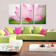 Lotus Flower Picture Canvas Print For Home Decor
