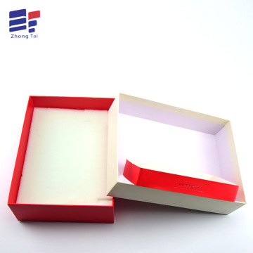 Clothes paper contain packaging with foam insert